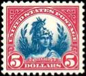 bi-colored stamp