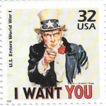 I Want You Stamp