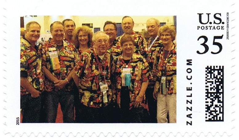10 brave USSS members attending APS StampShow in Grand Rapids, MI.