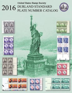 Durland Standard Plate Number Catalog – 2016 Edition, Perfect Bound