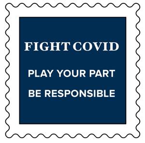 COVID Badge 1 inch