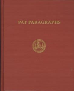 Pat Paragraphs